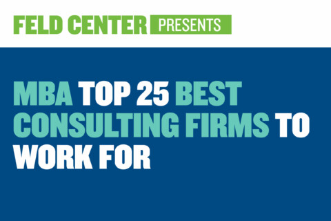 MBA Top 25 Consulting Firms to Work For