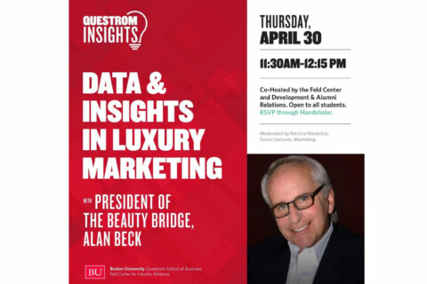 Recording – Questrom Insights: Data and Insights in Luxury Marketing