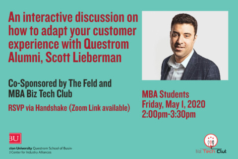 Recording: Questrom- An Interactive Discussion With Questrom Alum, Scott Lieberman (MBAs)