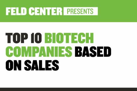 Top 10 Biotech Companies Based on Sales