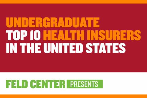 Undergraduate Top 10 Health Insurers in the U.S.
