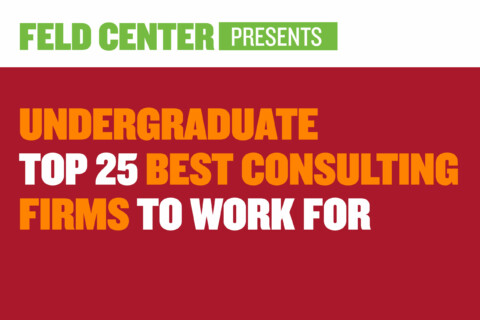 Undergraduate Top 25 Consulting Firms to Work For
