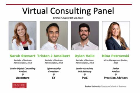 Recording – Questrom Consulting Panel Discussion