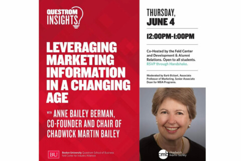 Recording – Questrom Insights: Leveraging Marketing Information in a Changing Age