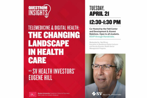 Recording: Questrom Insights – Telemedicine and Digital Health: The Changing Landscape in Health Care