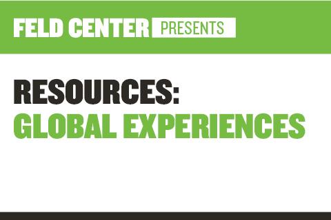Resources: Global Experiences (BU Center for Career Development)