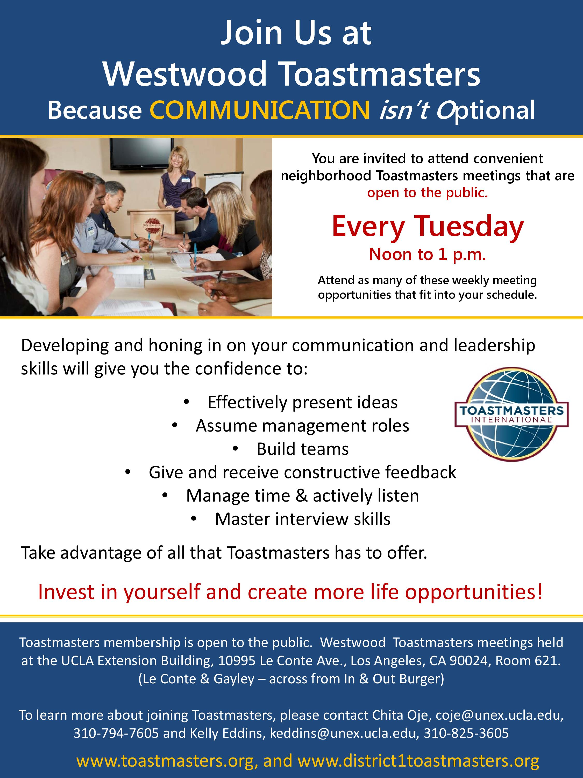 Boost Your Public Speaking Communication Skills With Toastmasters