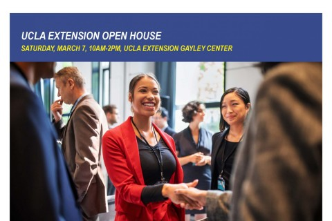 ucla extension open house, business, management, legal programs, certificate, enrollment discount