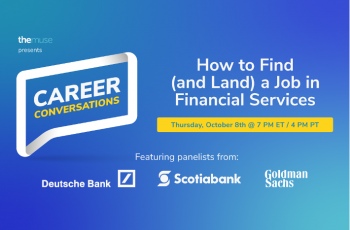 How to Find (and Land) a Job in Financial Services