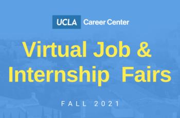 Fall 2021 Virtual Career Fair Series