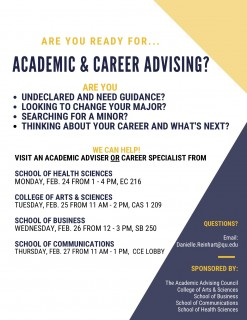 Advising Week Flyer