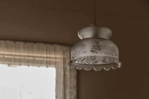 a dining room light fixture
