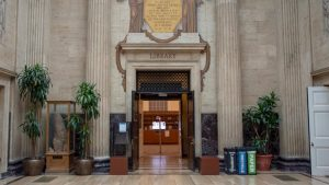 Clark Library Entrance