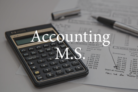 Grad Program: Accounting (M.S.)