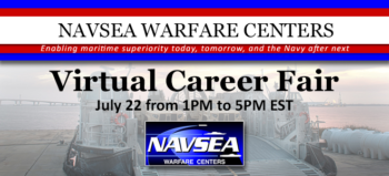NAVSEA Warefare Centers Virtual Career Fair