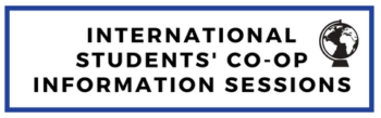 International Students' Co-op Information Session
