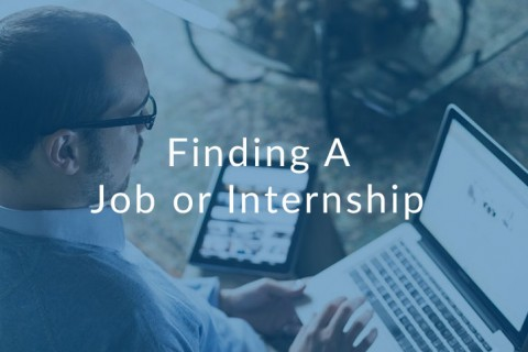 How To Find A Job Or Internship