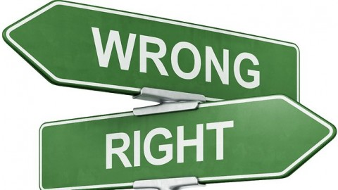 right-wrong-real-morality-sign