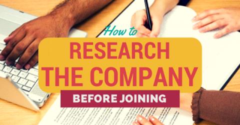 Company Research Guide