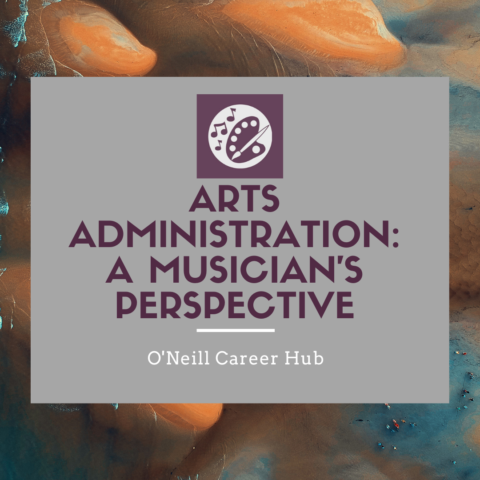 Arts Administration: A Musician's Perspective – Panel Recording