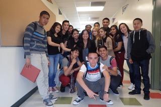 jackie w.students