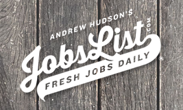Andrew Hudson's Jobs List