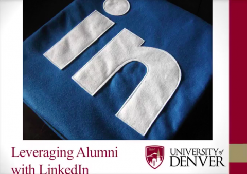 Leveraging Alumni with LinkedIn