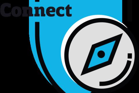 Connect Shield Blue