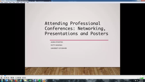 Attending Professional Conferences