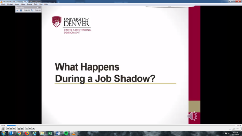 What Happens During a Job Shadow?
