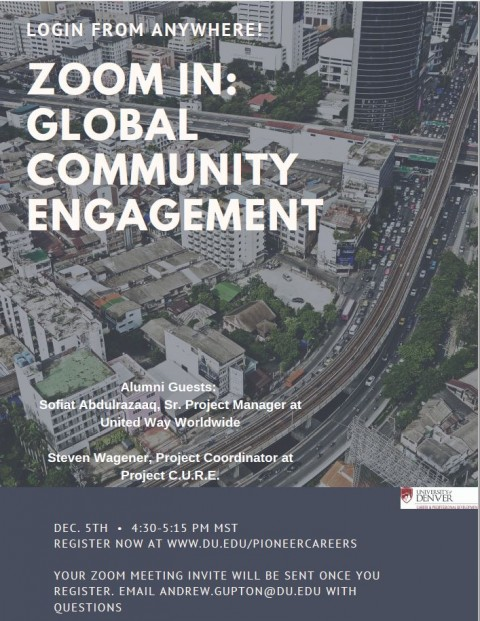 Zoom In: Global Community Engagement