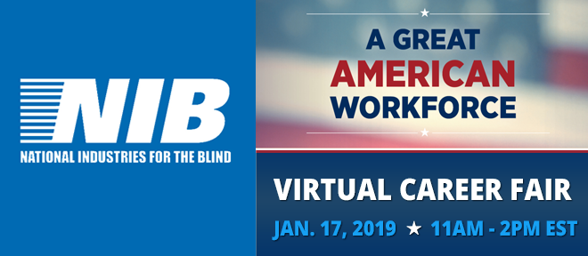 jobs for the legally blind