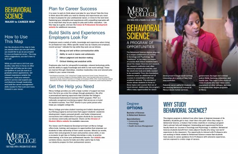 Behavioral Science Major to Career Map