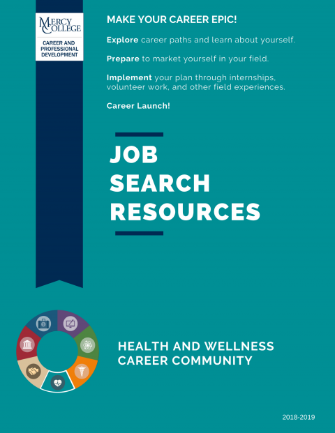 Health and Wellness Job Search Resource