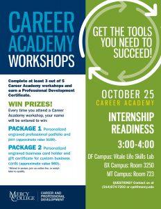 Career academy workshops