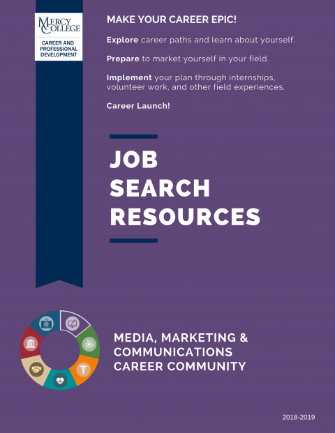 Media, Marketing & Communication Job Search Resource