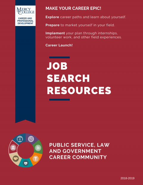 Public Service, Law & Government Job Search Resource