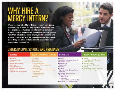 Why Hire a Mercy Intern?