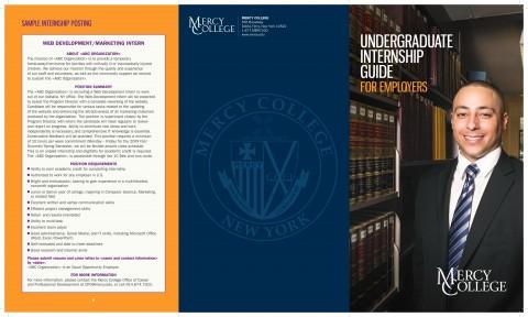 Undergraduate Internship Guide for Employers