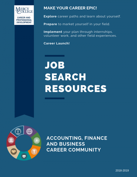 Accounting, Finance & Business Job Search Resource
