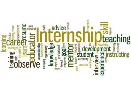Interns key words