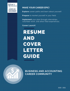 2020 Business and Accounting Resume and CL