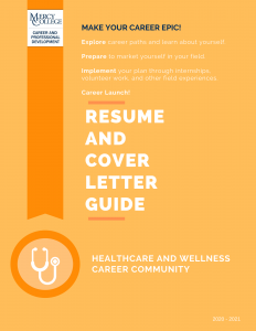 2020 Healthcare and Wellness Resume and CL