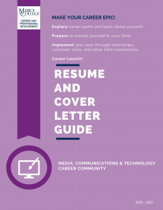2020 MEDIA, COMMUNICATIONS & TECHNOLOGY Resume and CL