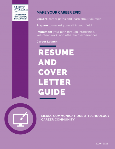 Media, Communications, & Technology Resume and Cover Letter Guide