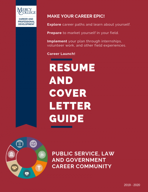 Public Service, Law and Government Resume and Cover Letter Guide