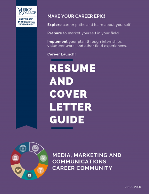 Media Marketing Communication Resume And Cover Letter Guide