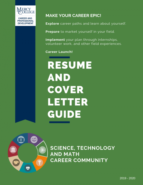stem resume and cover letter guide  u2013 career and