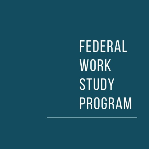 Federal Work Study Application 2019-2020