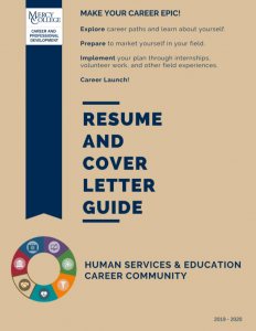 Human Services and Education Resume and Cover Letter Guide